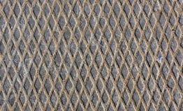 Metal la textura del suelo Imágenes de archivo libres de regalías