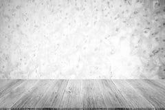 Metal la texture de mur de rouille, processus dans la couleur blanche avec le terra en bois Photos stock
