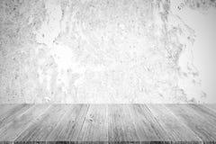 Metal la texture de mur de rouille, processus dans la couleur blanche avec le terra en bois Images stock