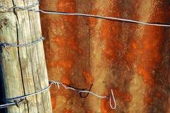 Metal la zolla arrugginita Fotografia Stock Libera da Diritti