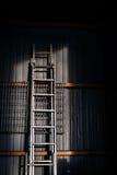 Metal ladder Royalty Free Stock Photos