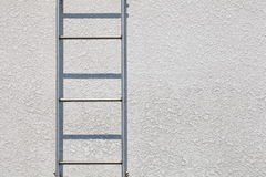 Metal ladder Stock Photo