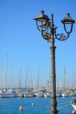 Metal lamppost Royalty Free Stock Photography