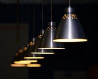 Metal lamps Royalty Free Stock Photo