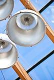 Metal lamps Royalty Free Stock Photos