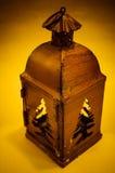 Metal lantern Royalty Free Stock Images