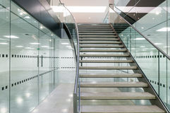 Metal las escaleras Fotos de archivo