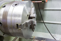 An metal lathe Royalty Free Stock Images