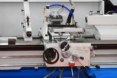 Metal lathe Stock Photos