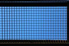 Metal lattice Royalty Free Stock Photo