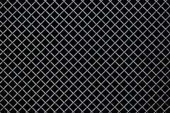 Metal lattice on a black background Stock Photo