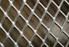 Metal Lattice Close-Up Royalty Free Stock Photo