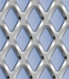 Metal Lattice, Vector Seamless Pattern. Stock Photos