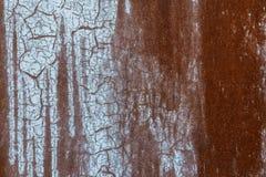 Metal le fond grunge de plaque métallique rouillé de fond extérieur grunge Photo stock