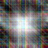 Linee di colore dell'arcobaleno di struttura del metallo fondo leggero Fotografia Stock