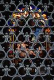 Metal le réseau Photo libre de droits