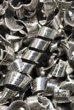Metal les copeaux photo stock