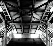 Metal les escaliers Photos libres de droits