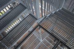 Metal les escaliers Image libre de droits