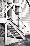 Metal les escaliers images stock