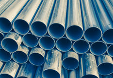 Metal les pipes photo stock