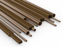 Metal les pipes illustration de vecteur
