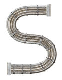 Metal Letter Stock Photography