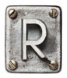 Metal letter Royalty Free Stock Photos
