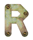 Metal letter Royalty Free Stock Images