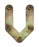 Metal letter Royalty Free Stock Photography