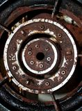 Metal line 3 Stock Photography
