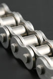 Metal link chain Royalty Free Stock Images