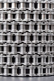 Metal link chain Royalty Free Stock Image