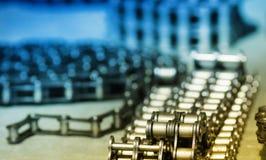 Metal Linkketten Stockbild