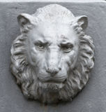 Metal Lion Head Fotografía de archivo