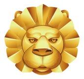 Metal lion's head Stock Images