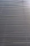 Metal listwa fasadowy budynek, tło i tekstura, zdjęcia stock