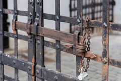 Metal lock Royalty Free Stock Photo