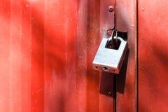 Metal lock Royalty Free Stock Image