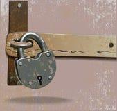 Metal lock Royalty Free Stock Photos