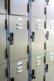 Metal Locker Stock Photo