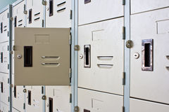 Metal Locker Royalty Free Stock Image