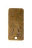 Metal locket Stock Images