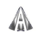 Metal A Logo Stock Photos