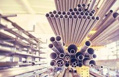 Metal los tubos Imagen de archivo libre de regalías