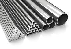 Metal los tubos Imagenes de archivo