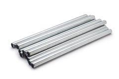 Metal los tubos Imágenes de archivo libres de regalías
