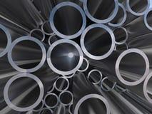 Metal los tubos ilustración de la representación 3d ilustración del vector