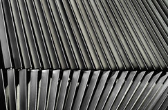 Metal Louver Architectural Detail Royalty Free Stock Photo