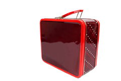 Metal Lunchbox Stock Image